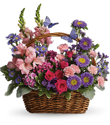 T48-3A Country Basket Blooms